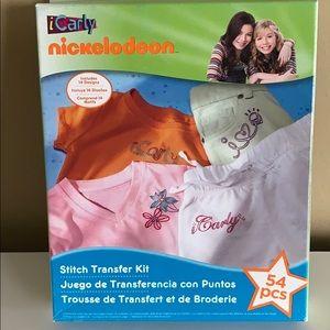 ICarly stitch transfer kit